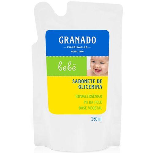Refil Sabonete Líquido Neutro Granado Bebê 250Ml