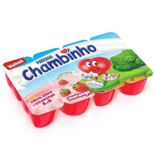 Petit Suisse sabor Morango Chambinho 320G