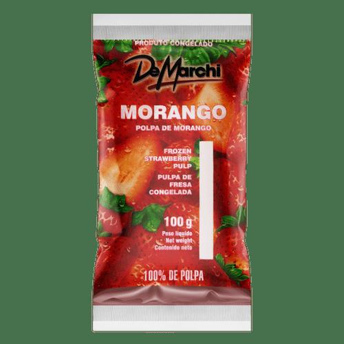 Polpa de Fruta Demarchi Morango 100G