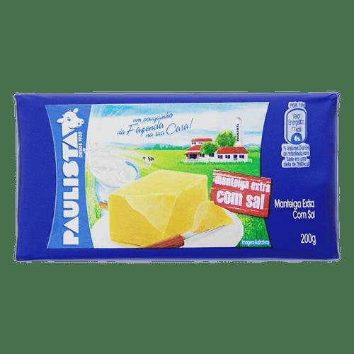 Manteiga Paulista 200G com Sal