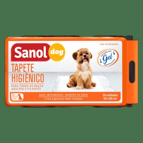 Tapete Higiênico Sanol Dog - 30 unidades