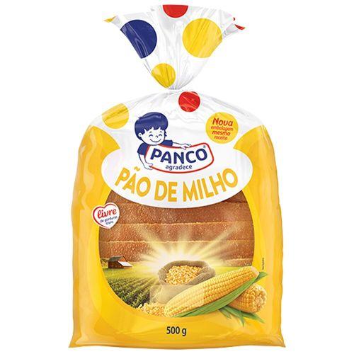 Pão de Forma Milho Panco 500G