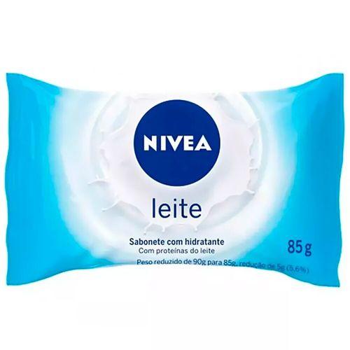 Sabonete em Barra Hidratante Proteína do Leite Nivea 85G