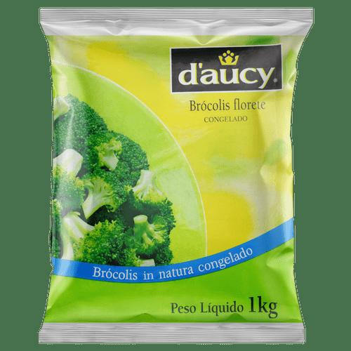 Brócolis Congelado Daucy Florete 1Kg