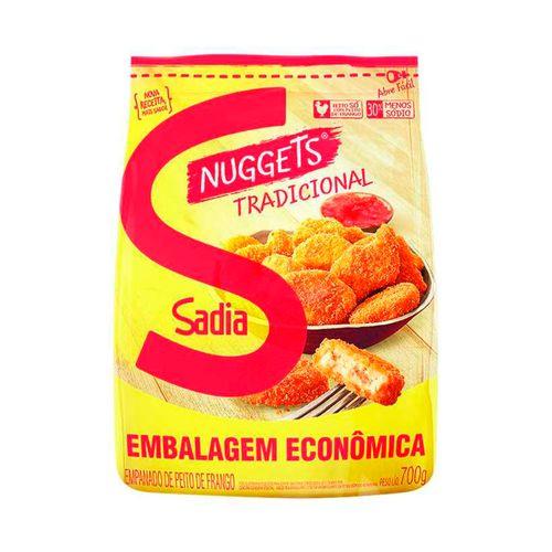 Nuggets de Frango Tradicional Sadia 700G