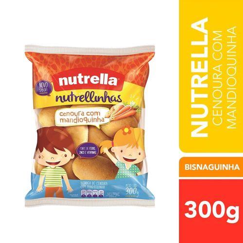 Bisnaga Cenoura com Mandioquinha Nutrella 300G