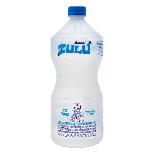 Álcool Zulu 70% 1L