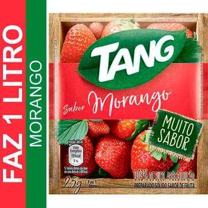 Refresco em Pó Sabor Morango Tang 25g