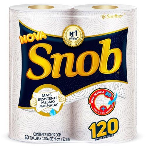 Toalha de Papel Snob - 2 Unidades