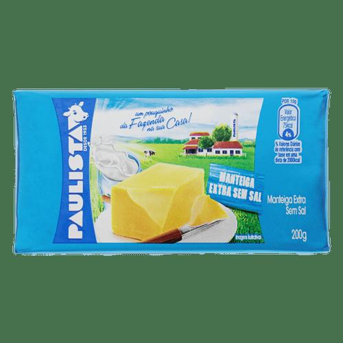 Manteiga sem Sal Paulista  200G