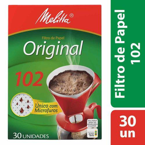 Filtro de Papel 102 Melitta - 30 Unidades