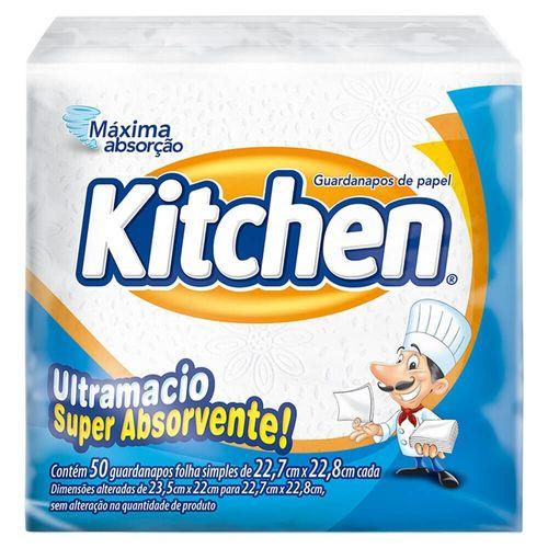 Guardanapo Kitchen 22,7Cm X 22,8Cm - 50 Unidades