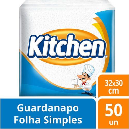 Guardanapo Kitchen 32Cm X 30Cm  - 50 Unidades