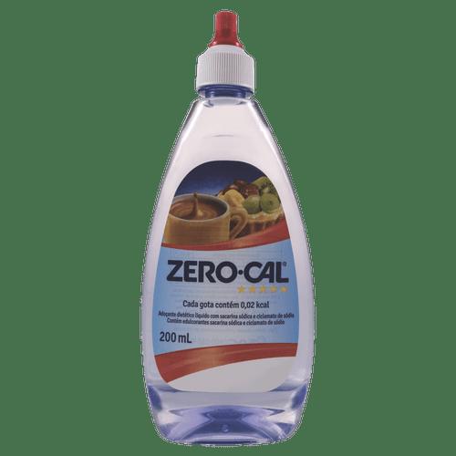 Adocante líquido Zero Cal Frasco 200ml