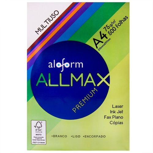 Papel Sulfite A4 Allmax - 500 Folhas