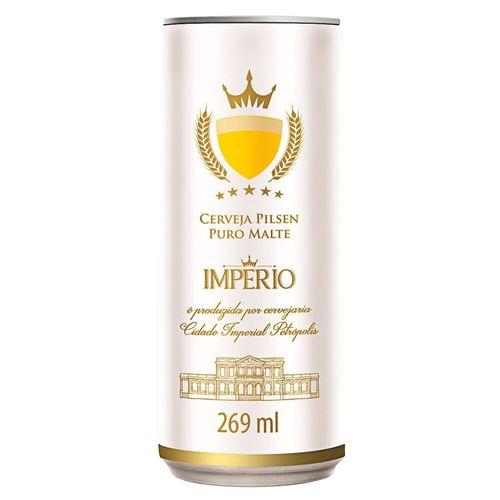 Cerveja Império Puro Malte Lata 269Ml
