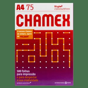 Papel Sulfite Chamex A4 - 500 folhas