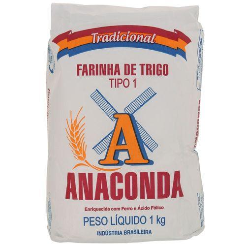 Farinha de Trigo Anaconda 1Kg