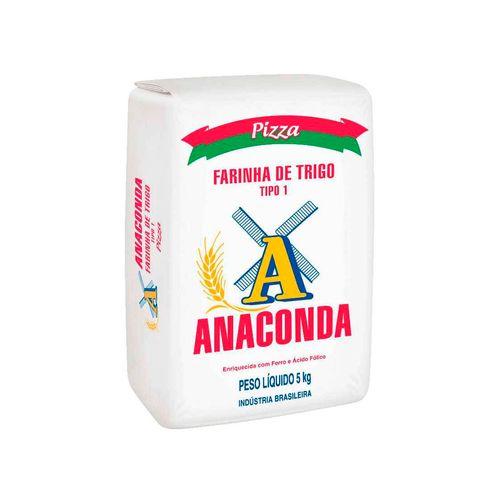 Farinha Anaconda Pizza T1 5Kg