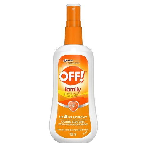 Repelente Spray Family Off 100Ml