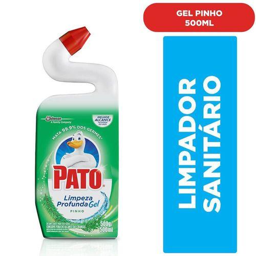 Limpador Sanitário Limpeza Profunda Pinho Pato 500Ml