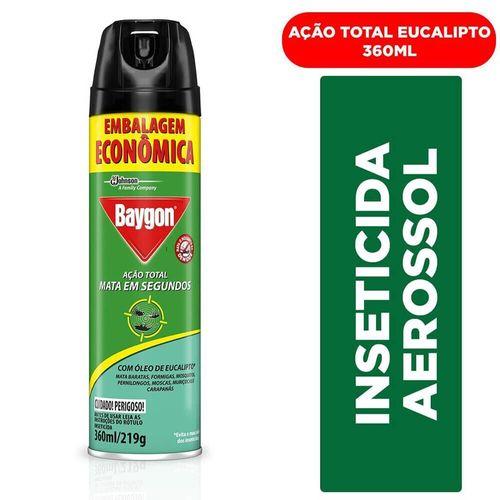 Inseticida Aerossol Eucalipto Baygon 360Ml