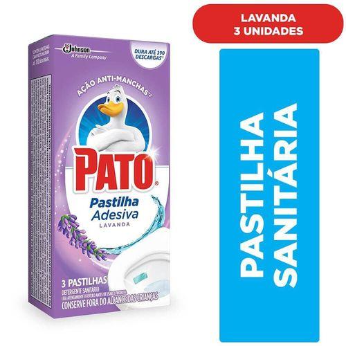 Detergente Sanitário em Pastilha Adesiva Pato - 3 Unidades