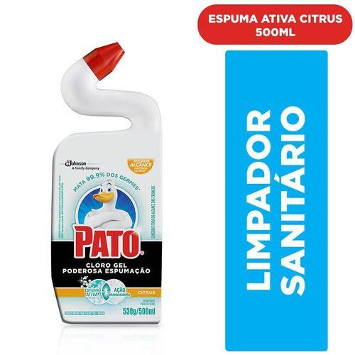 Limpador Sanitário Cloro Gel Citrus Pato 500Ml