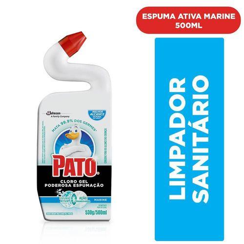 Limpador Sanitário Cloro Gel Marine Pato 500Ml