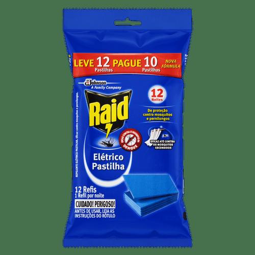 Pastilha Raid Protector Refil - Leve 12 Pague 10