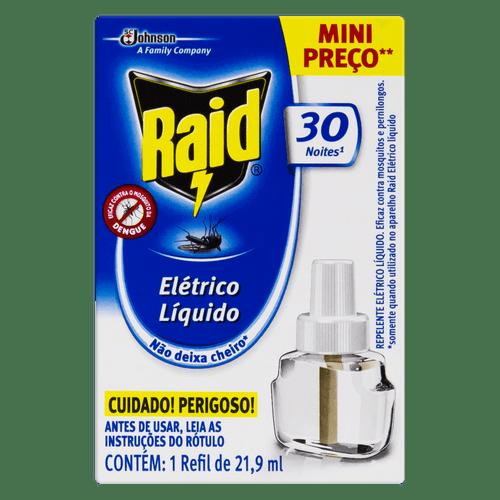 Inseticida Raid Eletrico Líquido 30N Ref 21.9