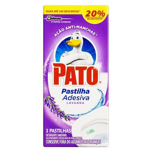 Desodorizador Sanitário em Pastilha Adesiva Lavanda Pato