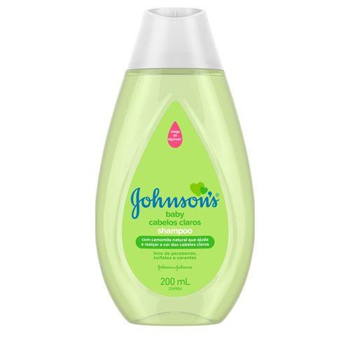 Shampoo Cabelos Claros Johnson's Baby 200Ml