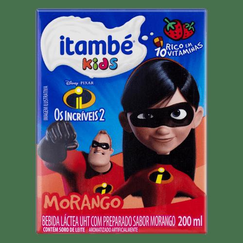 Bebida Láctea sabor Morango Itambé Kids 200Ml