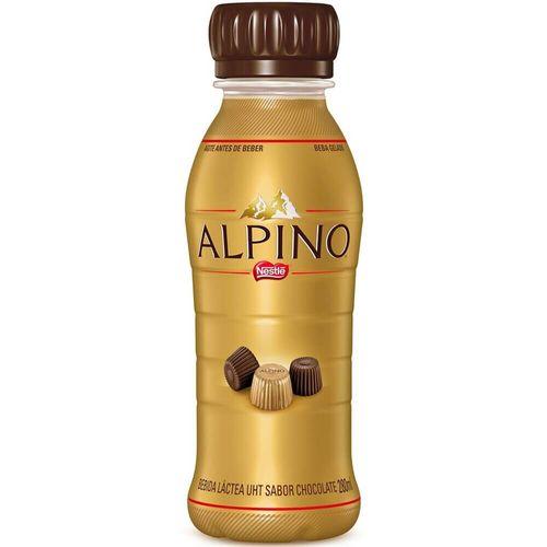 Bebida Láctea Sabor Chocolate Alpino 280Ml