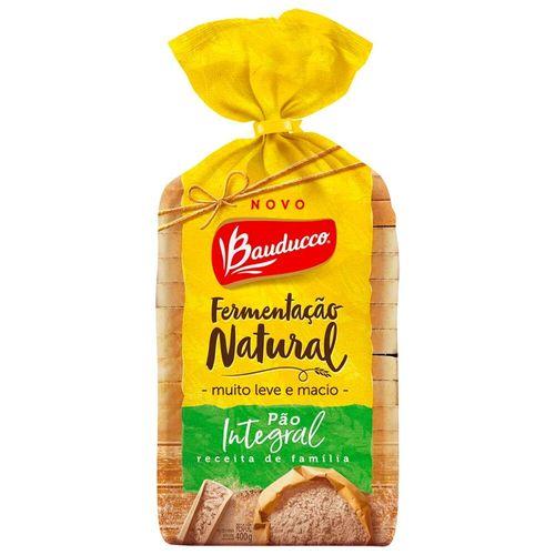 Pão de Forma Integral Fermentação Natural Bauducco 400G