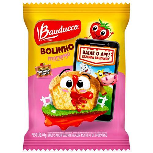 Bolinho sabor Baunilha e Morango Bauducco 40G