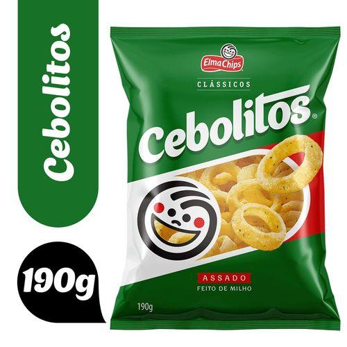 Salgadinho Cebolitos 190G