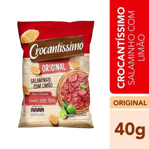 Snack Salame e Limão Crocantíssimo 40G