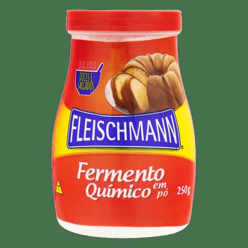 Fermento Químico Pó Fleischman 250G