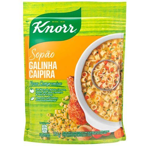 Sopão de Galinha Mais Macarrão Knorr 195G
