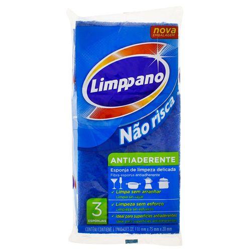 Esponja Antiaderente Limppano - 3 Unidades