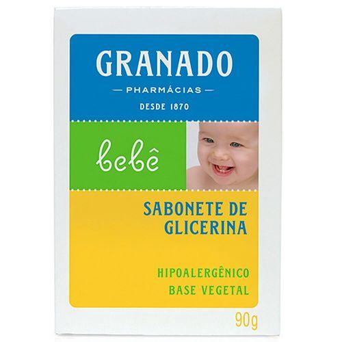 Sabonete em Barra e Glicerina Bebê Granado 90G