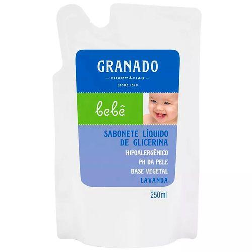 Sabonete Líquido Lavanda Granado Bebê Refil 250Ml