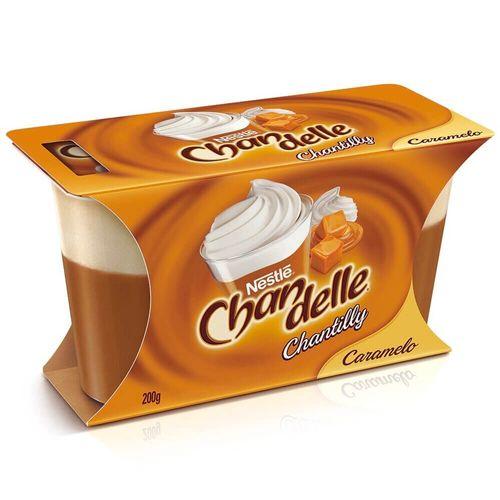 Sobremesa Sabor Caramelo Chantilly Chandelle 200G