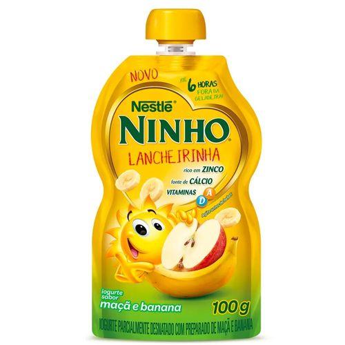 Iogurte de Maçã e Banana Ninho 100G