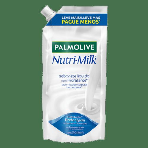 Sabonete Líquido Nutrimilk Palmolive Refil 500Ml
