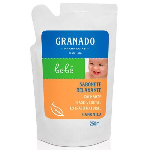 Refil Sabonete Líquido Camomila Granado Bebê 250Ml