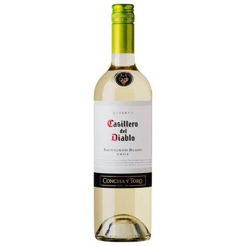 Vinho Chileno Branco Sauvignon Blanc Casillero Del Diablo 750Ml