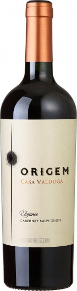 Vinho Nacional Tinto Cabernet Sauvignon Origem Demi Sec 750M